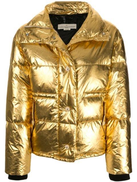 Golden Goose Yuri Metallic Coat - Farfetch