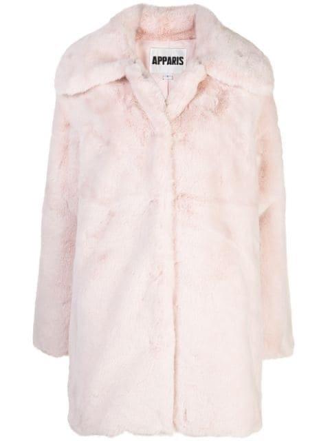 Apparis Alix faux-fur Coat - Farfetch