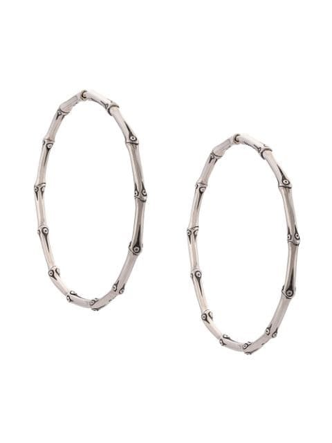 John Hardy Bamboo Large Hoop Earrings - Farfetch