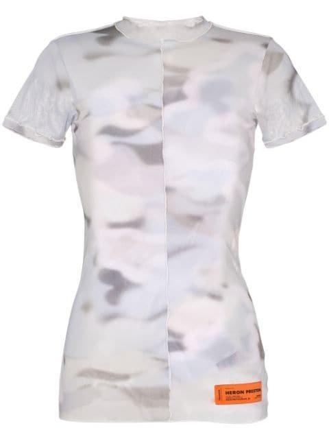 Heron Preston camouflage-print Mesh T-shirt - Farfetch
