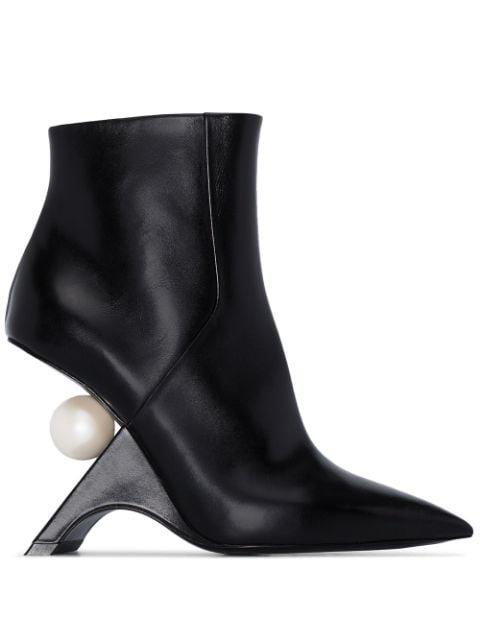 Nicholas Kirkwood Jazzelle 105mm Ankle Boots - Farfetch