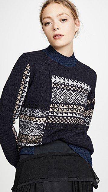 Fairisle Patchwork Pullover