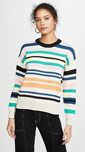 Seasonal Stripes Sweater