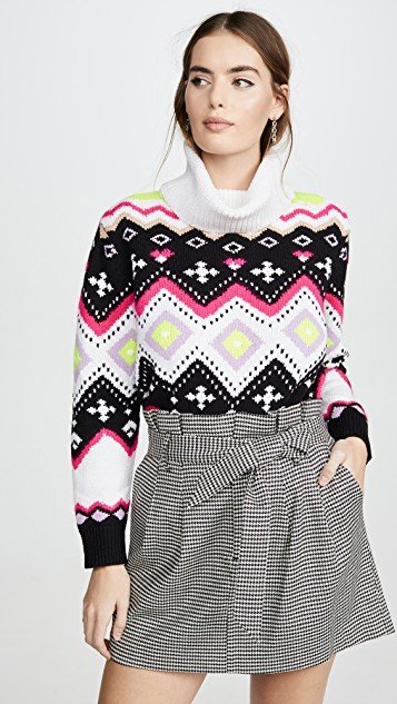 Emett Relaxed Fairisle Tunic