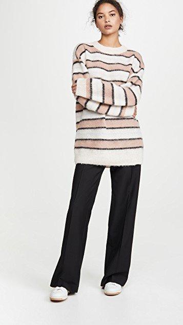 Karalynn Fluffy Alpaca Pullover