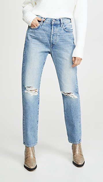 Tash Relaxed Straight Jeans