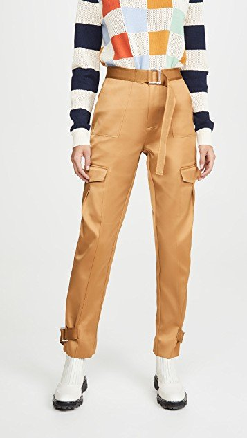 Skunk Polyester Trousers