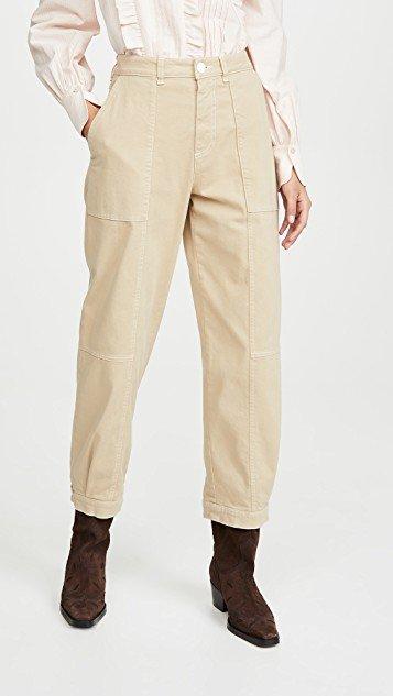 Gathered Pants