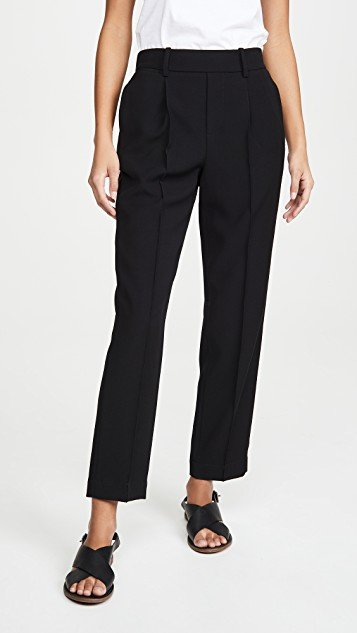 Tapered Pull On Pants