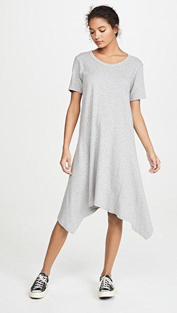 Long Slim Gusset Dress