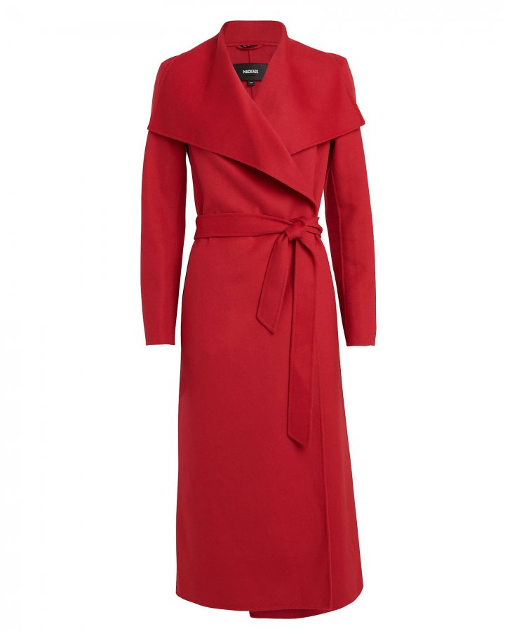Mai Wool Wrap Coat