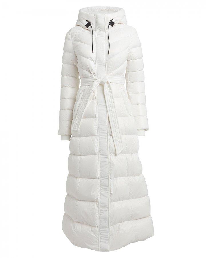 Calina Belted Puffer Coat