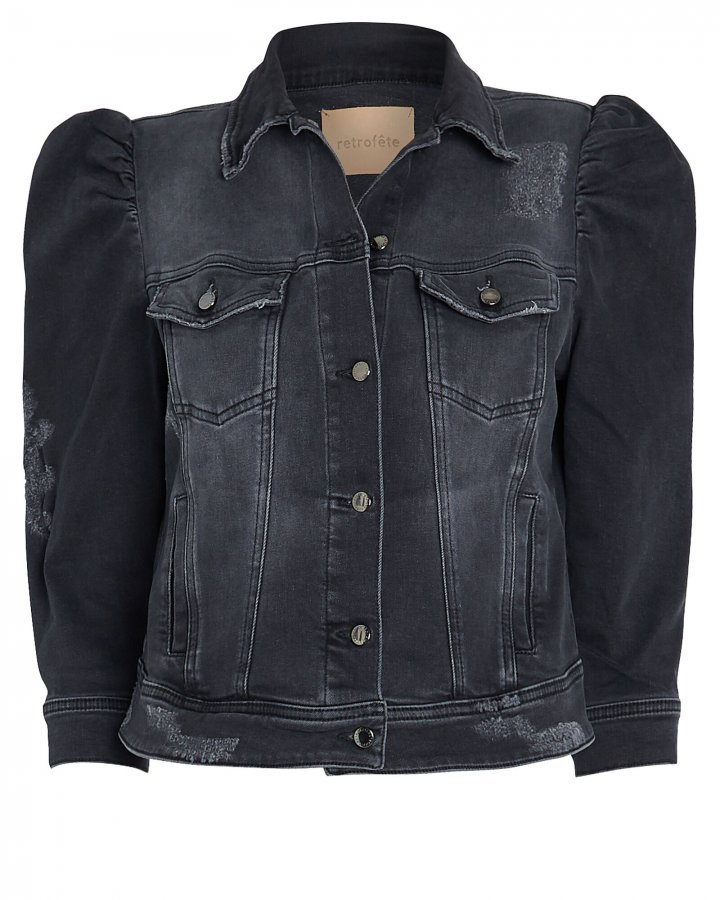Ada Cropped Denim Jacket