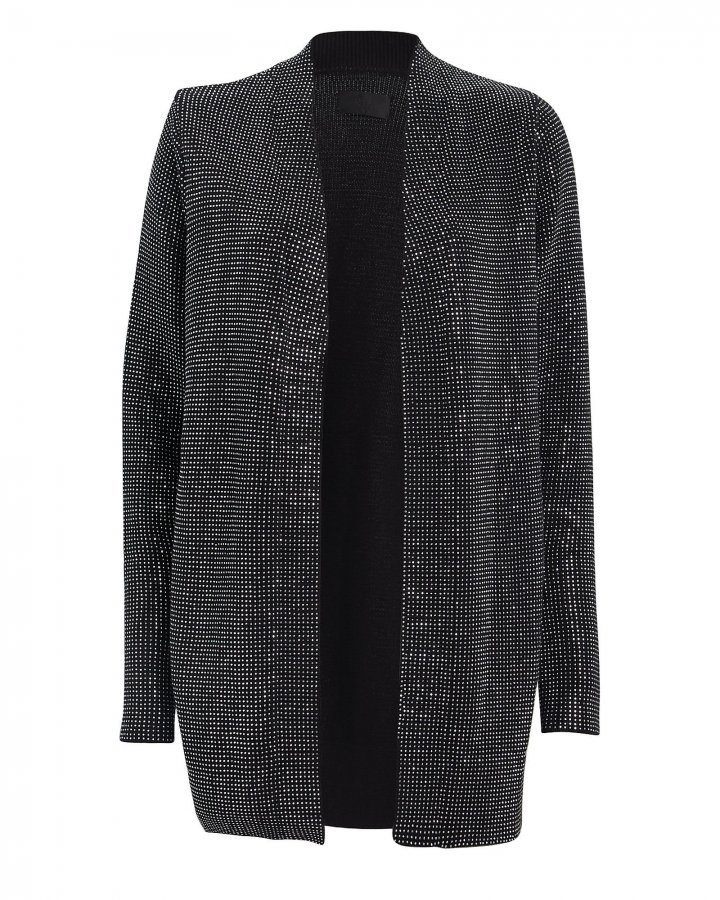Serge Studded Cotton Cardigan