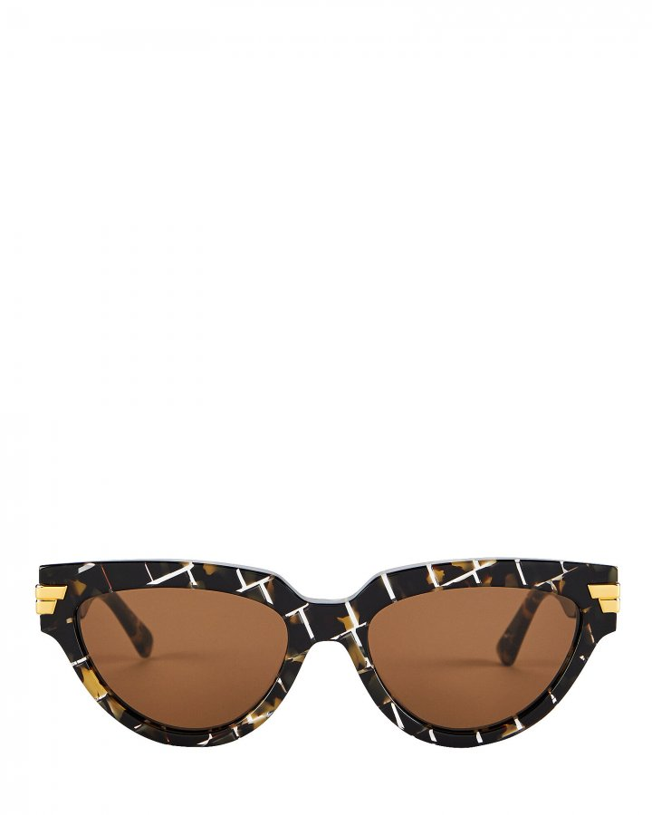 Intrecciato Cat Eye Sunglasses