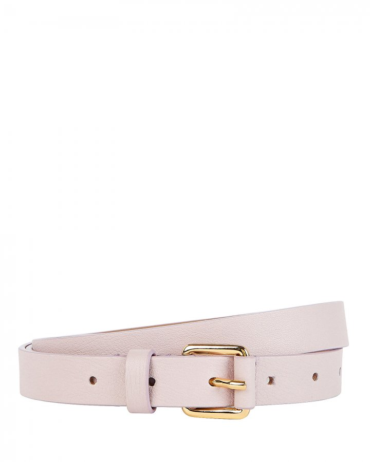 Ivy Thin Leather Waist Belt