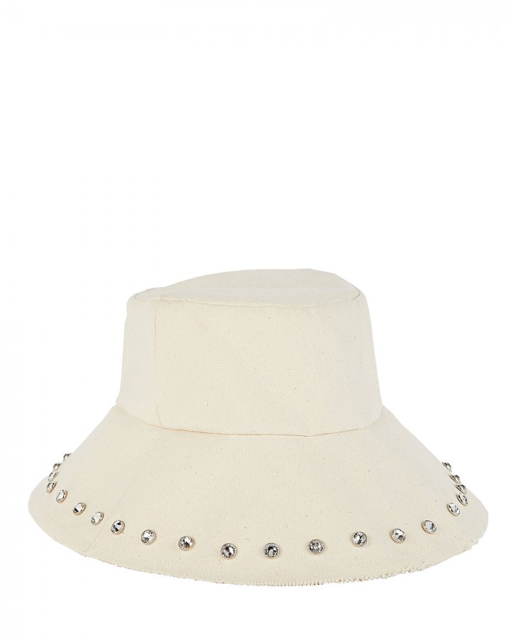 Louise Canvas Bucket Hat
