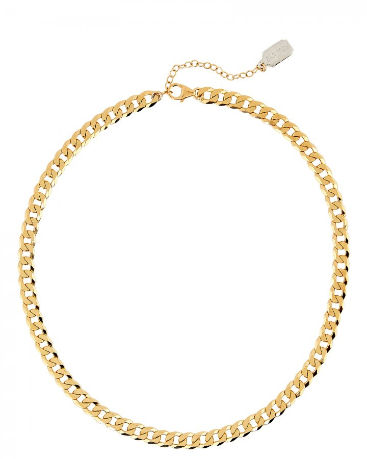 Curb Chain Layer Necklace