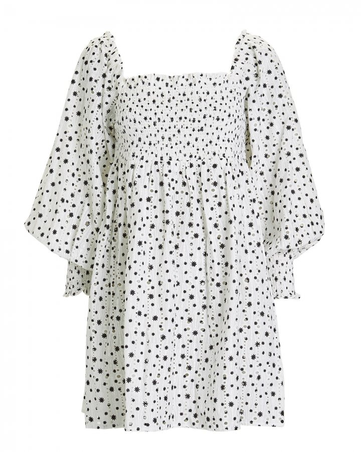 Bethany Eyelet Mini Dress