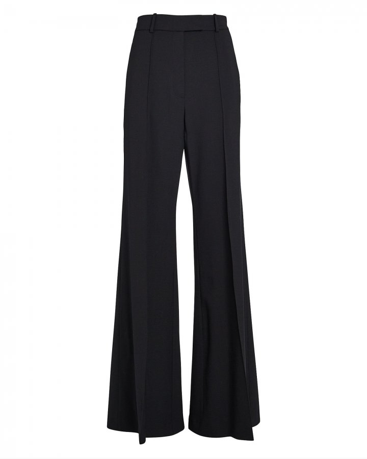Lincoln High-Waist Flared Trousers
