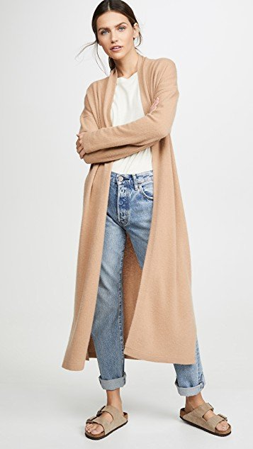 Long Cashmere Robe