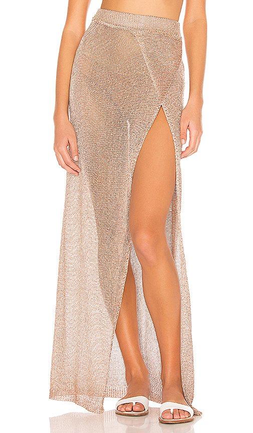 x REVOLVE Keva Wrap Maxi Skirt