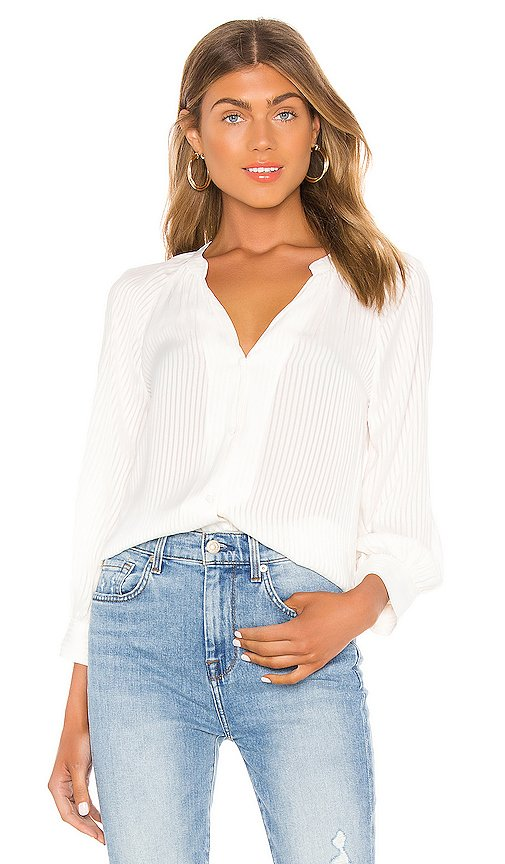 Shadow Stripe Button Down