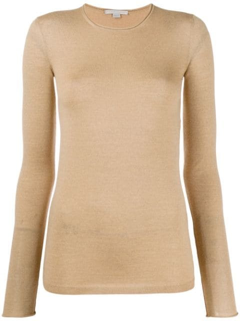 Stella McCartney Sheer slim-fit Top - Farfetch