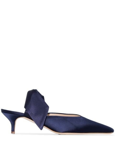 Gia Couture Lizzo Bow Detail Mules - Farfetch
