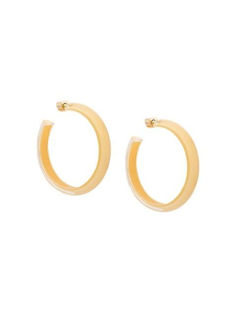 Alison Lou Medium LOUcite Jelly Hoops - Farfetch