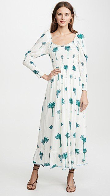 Palmy Dress