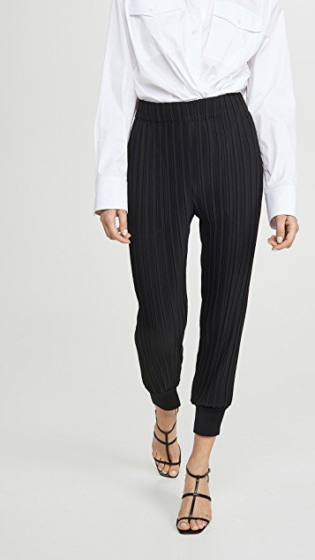 Pleated Joggers