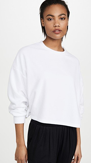 Summer Fleece Crew Sweatshirt