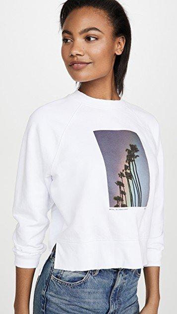 Rainbow Palm Sweatshirt