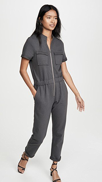 Cassie Sweat Jumpsuit