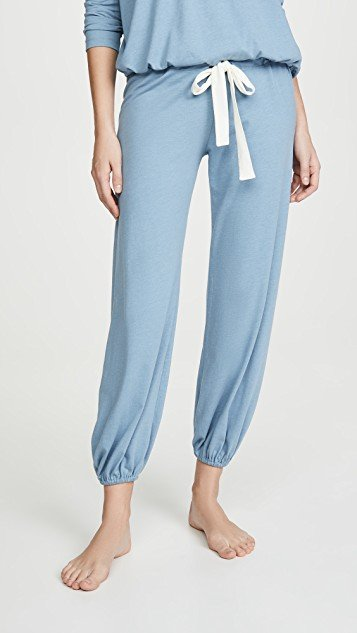 Heather Cropped Pants