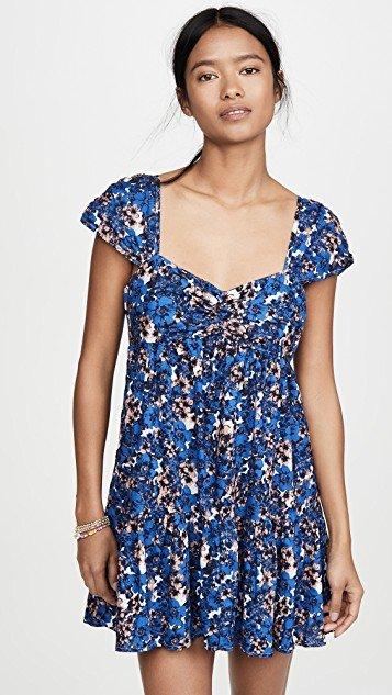 Pattern Play Mini Dress