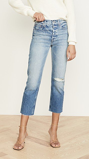 Constance Cropped Straight Jeans