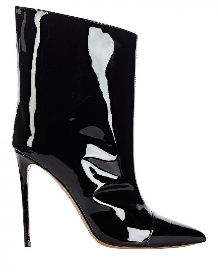 Alex Patent Leather Booties