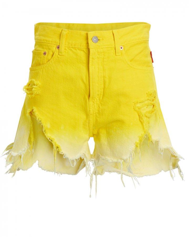 Nic Ombré Cut-Off Denim Shorts