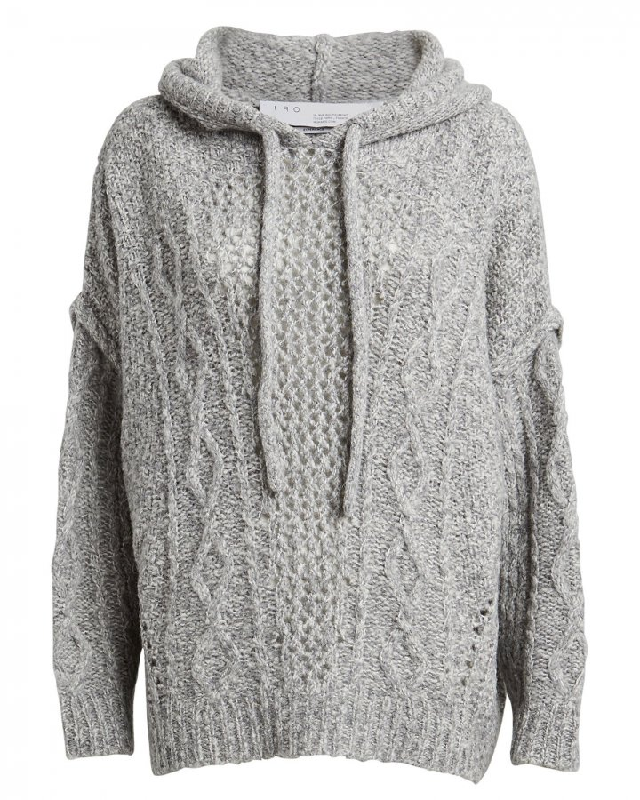 Hooded Meadow Wool-Blend Sweater
