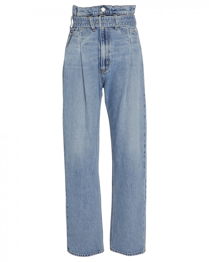 Reworked 90s Paperbag Jeans