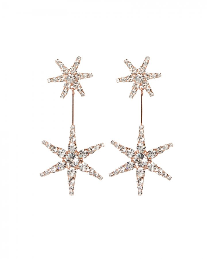 Estee Crystal Drop Earrings