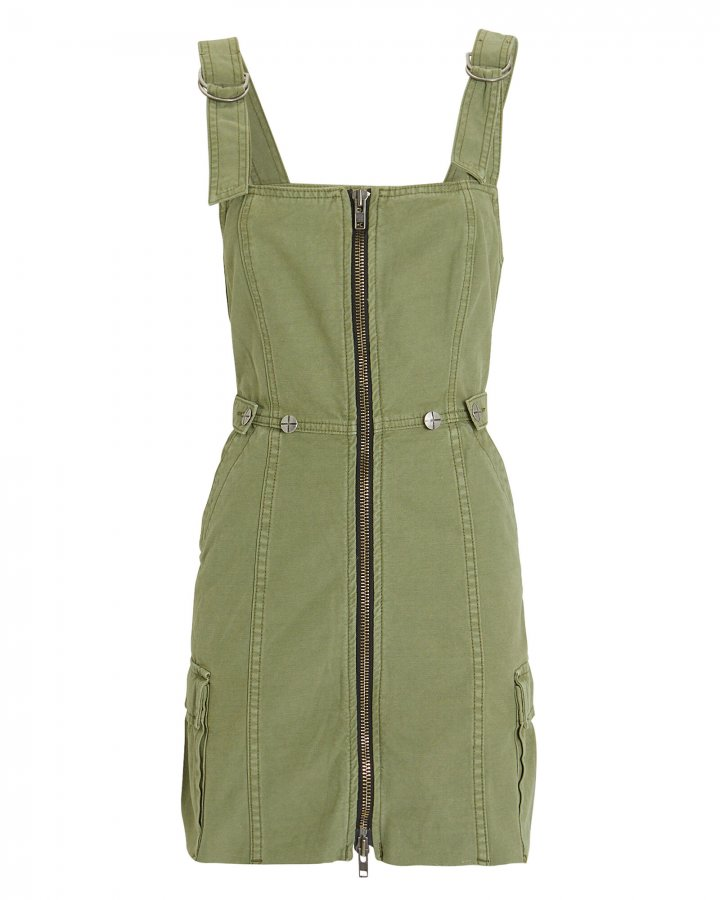 Crypt Pinafore Dress