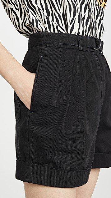 Rowanne Cotton Twill Shorts