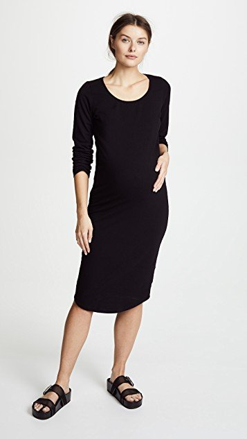 Maternity Long Sleeve Dress