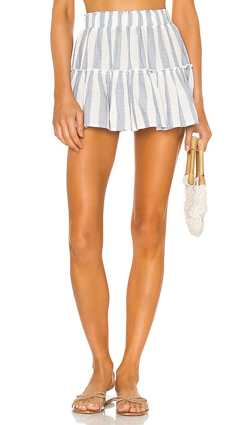 x REVOLVE Umbrella Stripes Skirt