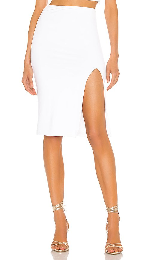 Catie Fitted Midi Skirt