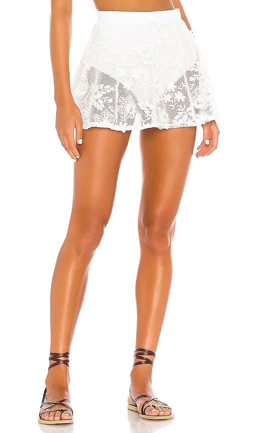 Crochet Daisy Skater Skirt
