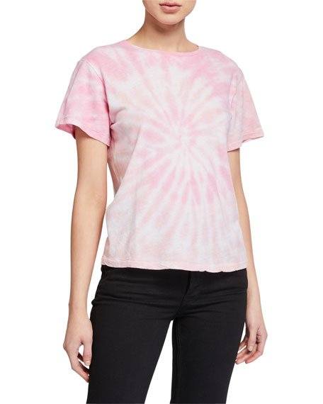 Hanes Tie-Dye Short-Sleeve Cotton Tee